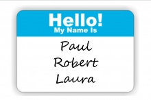 A Big Welcome to Paul, Robert and Laura